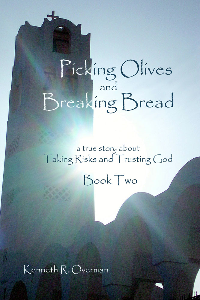 Picking Olives and Breaking Bread Book Two Front Cover Final